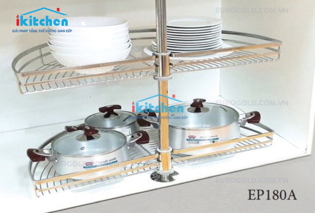 Gợi ý lựa chọn mâm xoay góc tủ bếp chuẩn