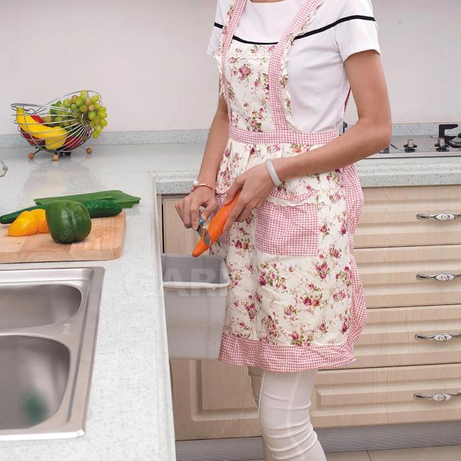 Tìm kiếm giải pháp cho căn bếp nhỏ – Thùng rác mini treo cánh tủ bếp Garis