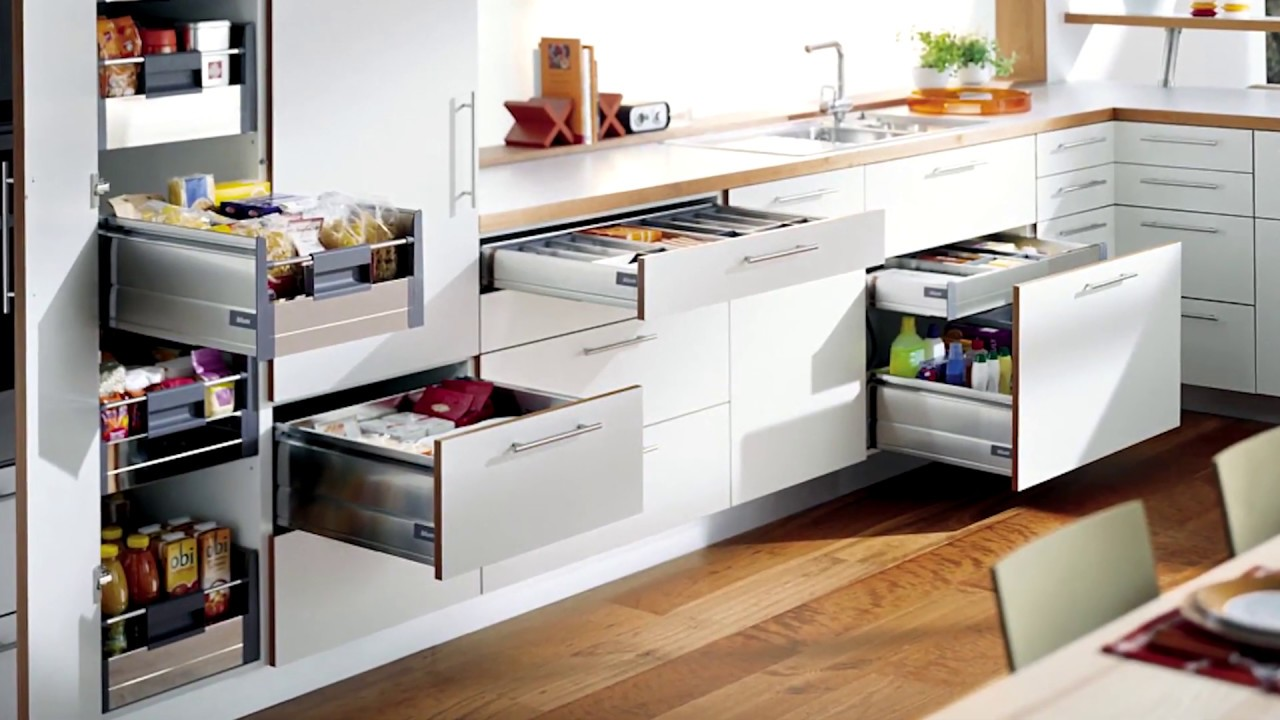 Top 7 phụ kiện tủ bếp tiết kiệm diện tích không gian bếp